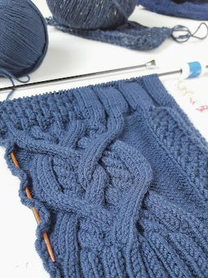 ровное вязание, красивое вязание, вязаные косы, араны