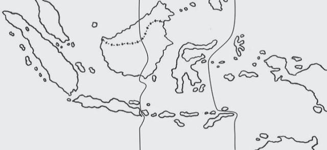 Gambar Sketsa Peta Indonesia Terbaru Koleksi Gambar Mewarnai Jpeg