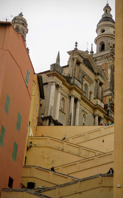 Things to do in Menton France: Climb the city's staircases