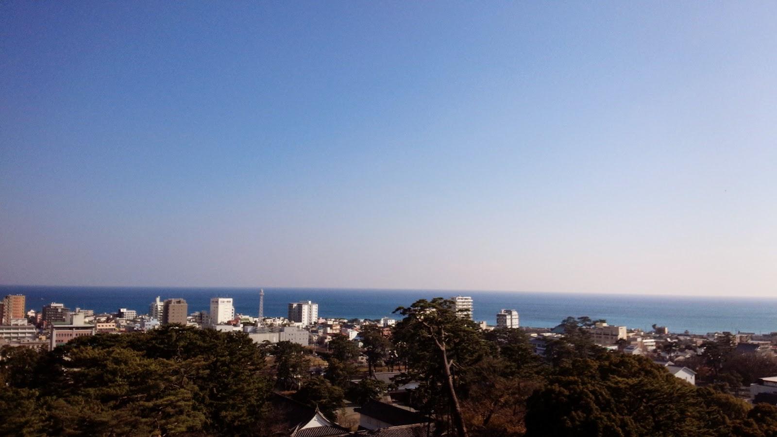 小田原城からの景色
