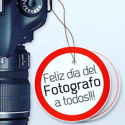 Feliz día del fotógrafo
