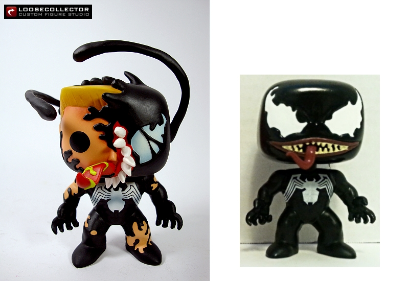 Loosecollector Custom Action Figures Official Website Phasing Venom