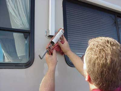 The Rv Doctor Leaky Rv Window Can Cause Structural Damage