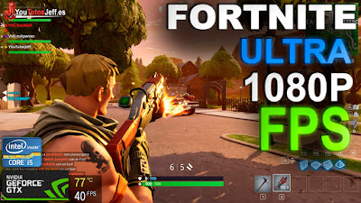 gtx 1050 ti 4gb, fortnite gtx 1050 ti 4gb, test de juegos, fortnite ultra 1080p