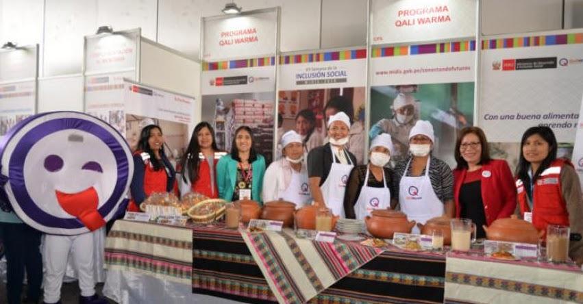 Qali Warma promueve alimentación saludable en Semana de la Inclusión Social - www.qaliwarma.gob.pe