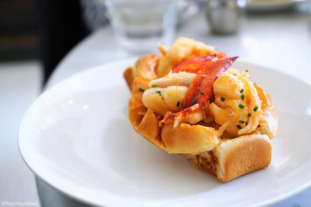 Lobster Roll at North Square Oyster in Boston