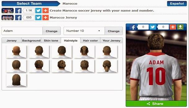 footballshirt maker