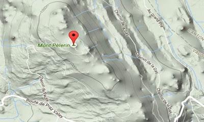Mont Pèlerin και 25ος Παράλληλος