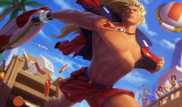 League of Legends Will Have a New Batch of Pool Party Skins