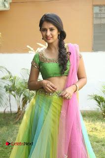Actress Nikitha Bisht Stills in Lehenga Choli at Pochampally Ikat Art Mela Launch  0127.JPG