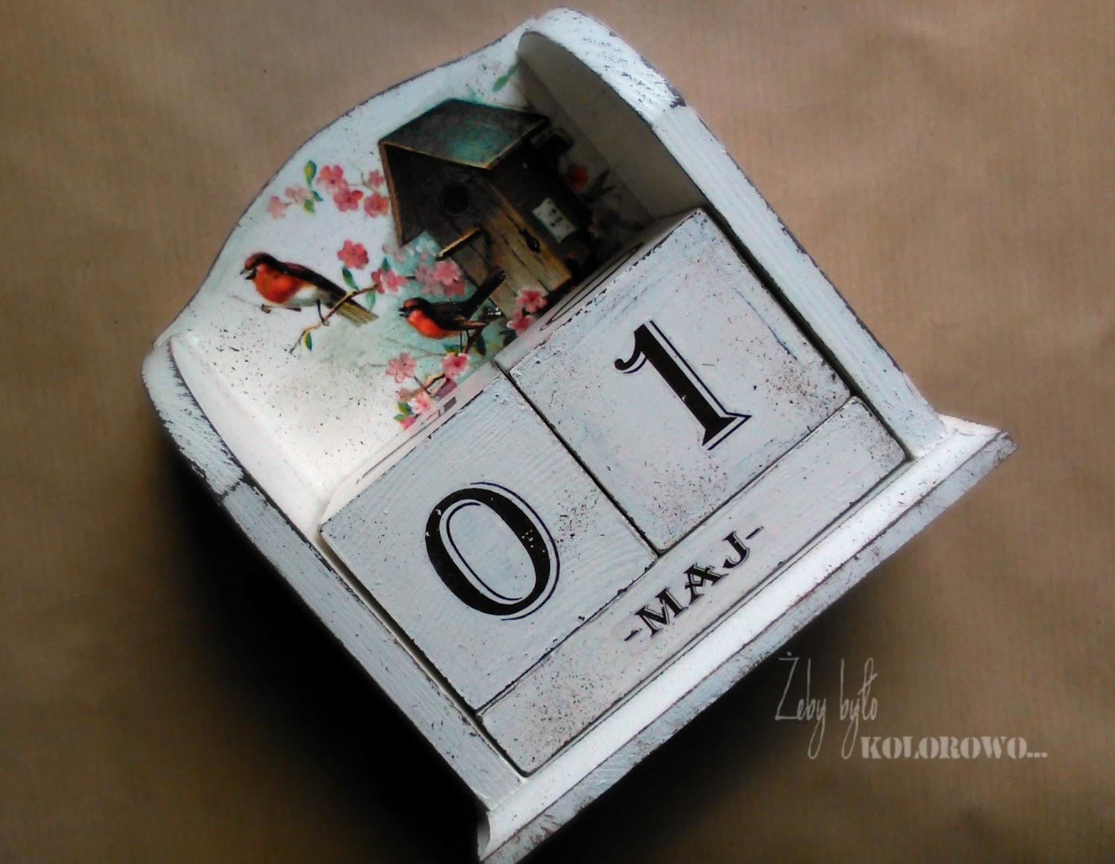 kalendarz z patkami