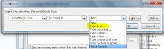 NaN error in calculated decimal fields