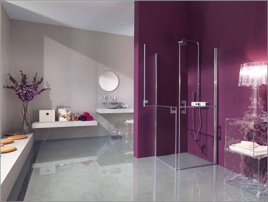 Art deco cabines de douche contemporaines pour votre for Decoration douche salle bain