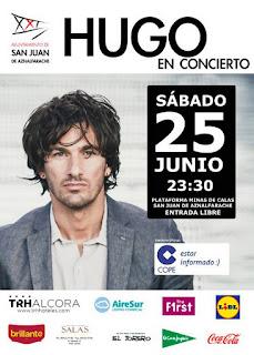 Hugo Salazar en Concierto - San Juan de Aznalfarache 2016