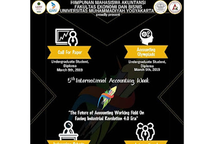 Event 5th International Accounting Week 2019 Mahasiswa