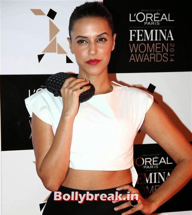 Neha Dhupia, L`Oreal Paris Femina Women Awards 2014
