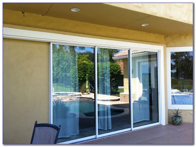 WINDOW Tint Sliding GLASS Doors ideas photos