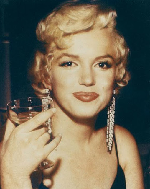 Marilyn Monroe vintage Champagne coupe glasses