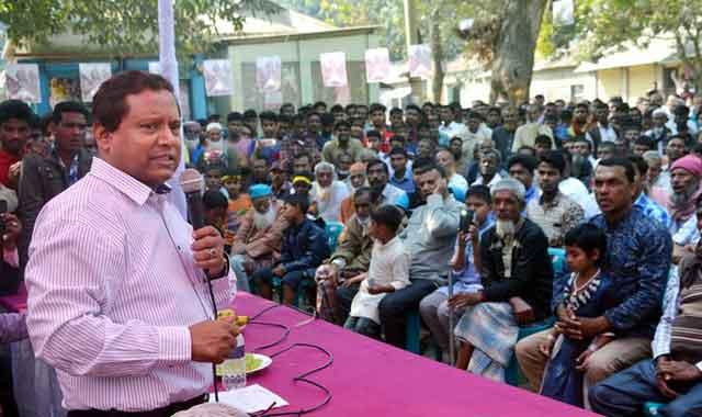 মেলান্দহ-মাদারগঞ্জকে শহরে পরিণত করা হবে:মির্জা আজম