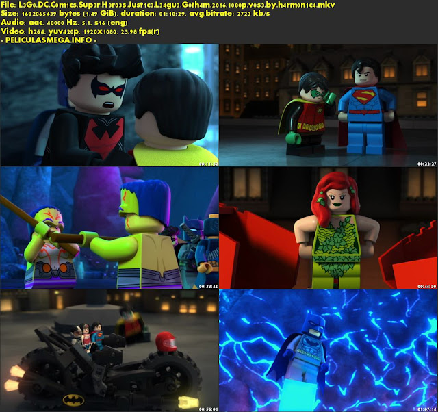 Descargar LEGO DC Comics Superheroes: Justice League: Gotham City Breakout Subtitulado por MEGA.