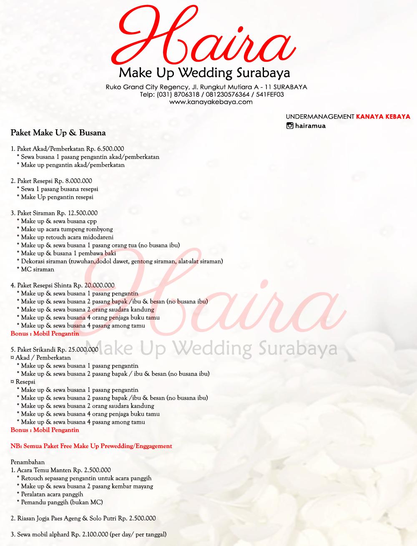 Queennaa s zone persiapan pernikahan dan info pricelist mua ig kanayawedding junglespirit Choice Image