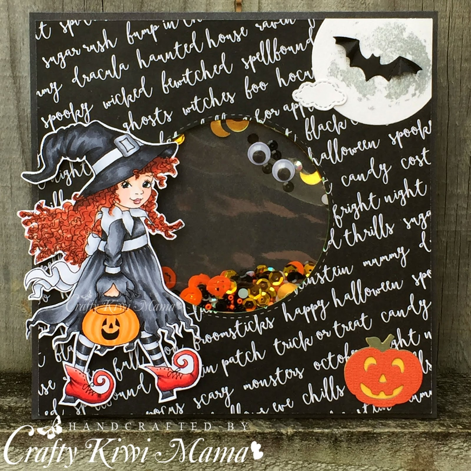 Spooky Stamp Trick or Treat Stencil Darice Halloween 3 Piece Embossing Folder