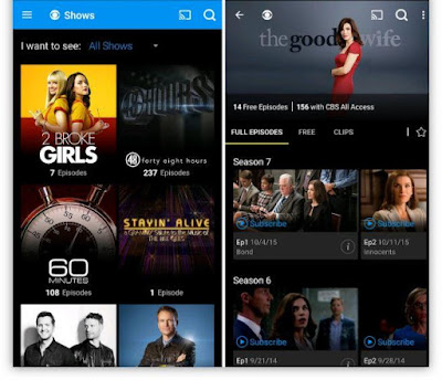 CBS Full Episodes and Live TV App (Free)