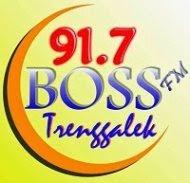 BOSS FM 91.7 MHz Trenggalek