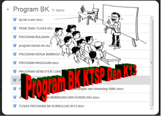 Program Kerja Bk Sma Smk Kurikulum 2013 Terbaru 2018