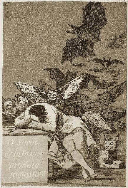 Γκόγια - El sueño de la razón produce monstrous / Ο ύπνος της λογικής γεννάει τέρατα / The Sleep of Reason Produces Monsters