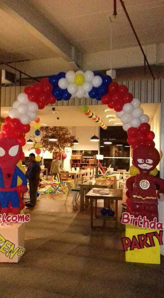 Balon dekorasi codolsky kostum maskot badut dekorasi for Dekor ulang tahun