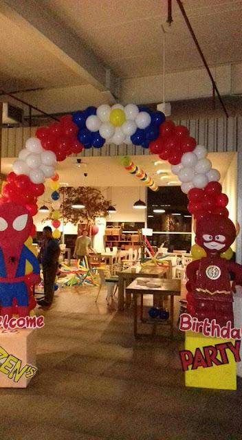 gate balon dekor ulang tahun