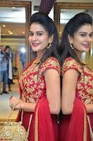 Jenny Honey in Stunning Dark Red Anarkali Dress at Splurge   Divalicious curtain raiser ~ Exclusive Celebrities Galleries 101.JPG