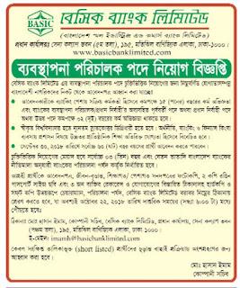 BASIC Bank Limited Director Job Circular 2018