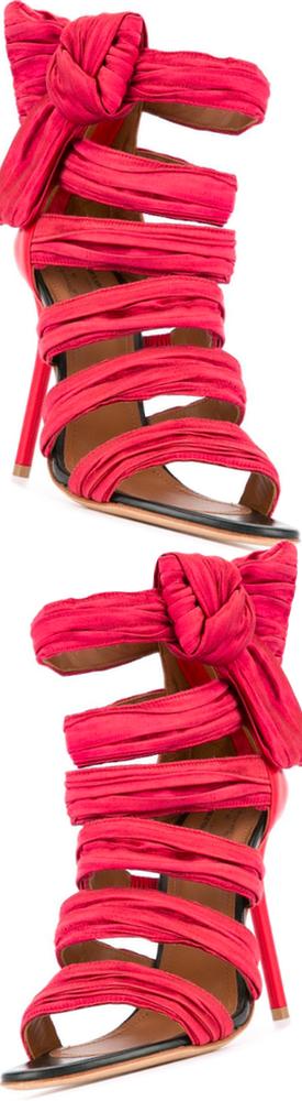 MALONE SOULIERS strappy stiletto sandals
