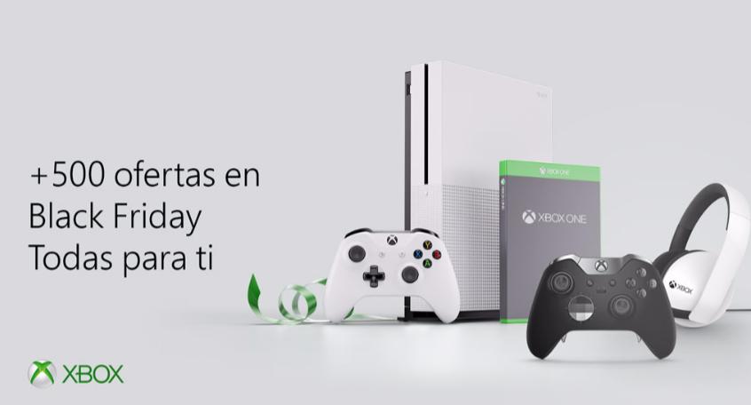 Xbox se une al Black Friday con grandes ofertas