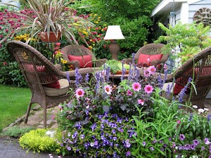 Chair on Garden