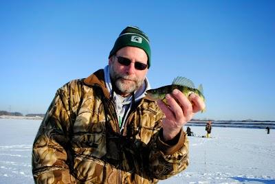 Michigan DNR Fisheries Division staffers talk Michigan ice fishing
