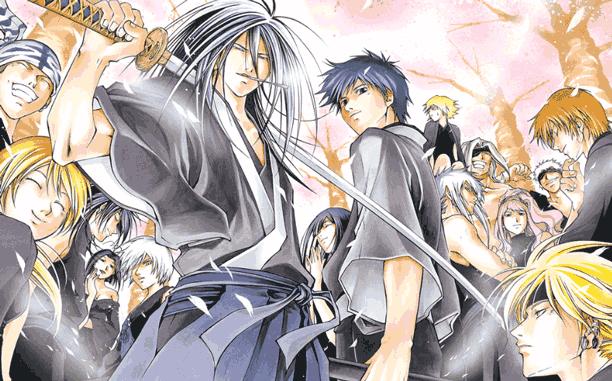 Samurai Deeper Kyo - Daftar Anime Samurai Terbaik Sepanjang Masa