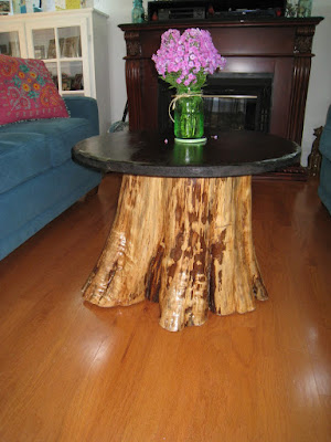 Cedar Stump to Table, shared by Repurposed for Life