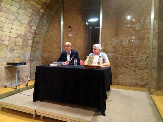 Esguard de Dona - Presentació del Llibre Paisatge i Natura al Penedès realitzada per Albert Tubau, President de l'IEP i coordinador de l'obra