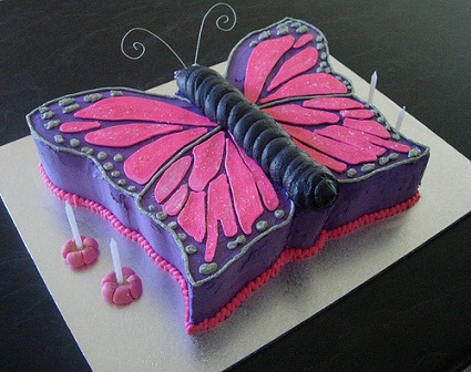 Girls Birthday Cakes Pictures