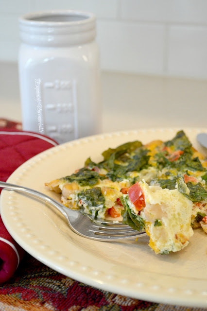 Simple Egg Bake Recipe