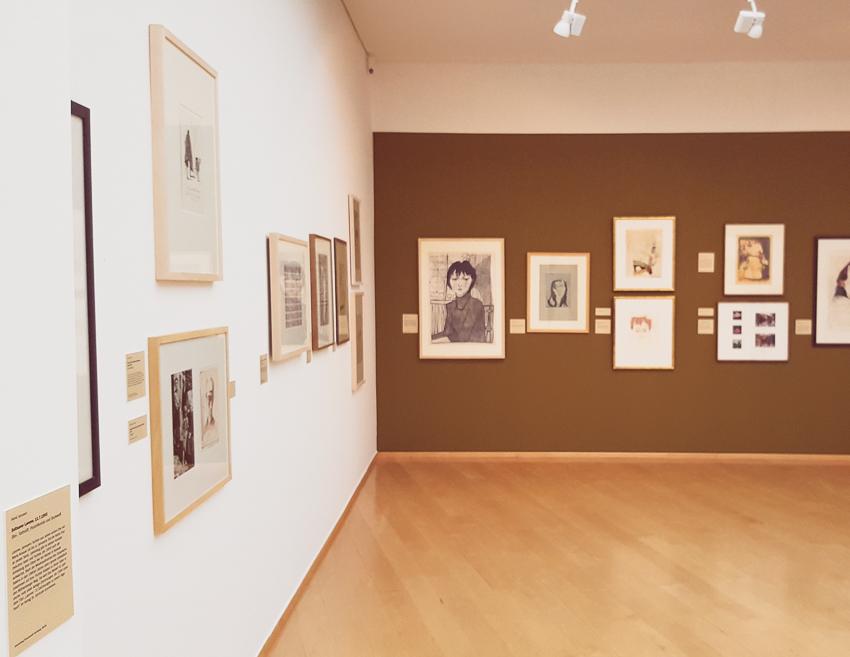 janna werner papiersalat der horst janssen archipel ausstellung im horst janssen museum. Black Bedroom Furniture Sets. Home Design Ideas