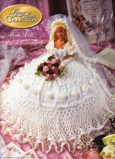 Vestidos de noiva para Barbie - Bridal dresses for barbie dolls - Para inspirar nossas criações 11