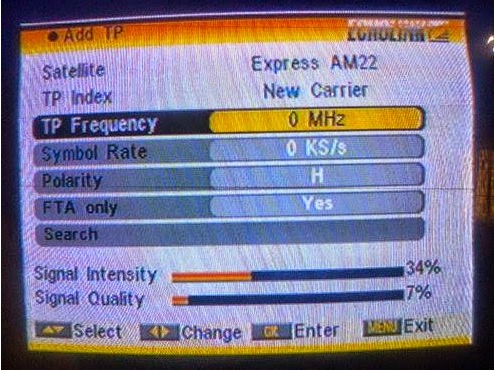 Dish Tv Frequency Settings 2019