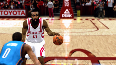 NBA 2K13 James Harden Bear Hair Update