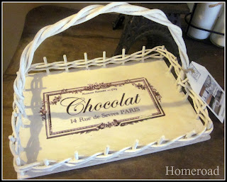 French Le Chocolat Basket