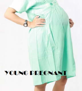 Young Pregnant