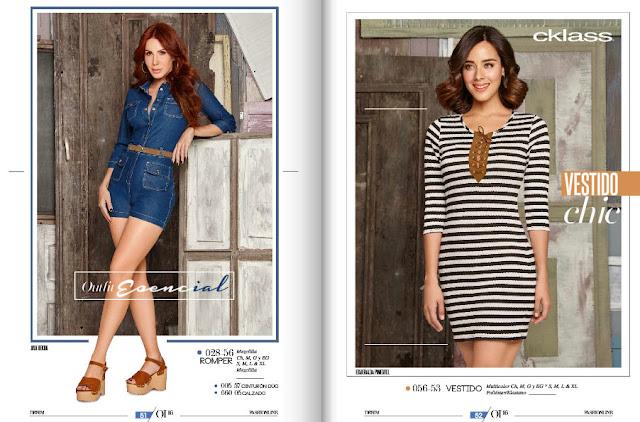 Catalogo de ropa cklass 2016 fashionline OI